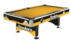 Pittsburgh Steelers 8' Pool Table
