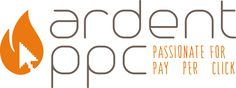 Ardent PPC logo for a Pay Per Click company, to compliment a fresh design website