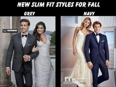 most Tuxedos are on display in the store Tuxedo Wedding, Formal Wedding, Wedding Ideas, Men Formal, Formal Wear, Tux Rental, Grey Tuxedo, Slim Fit Tuxedo, Tuxedos