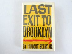 Last Exit to Brooklyn 1st Ed. by Hubert by PegasusVintageBooks