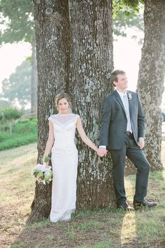 Loving this gorgeous and slightly rustic wedding photo | Joel Allegretto Photography @Joel Allegretto