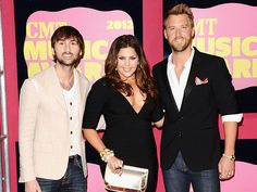 Charles Kelley and Dave Haywood of Lady Antebellum do jeans and blazers right.