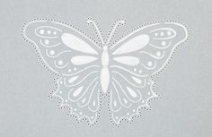 Pergamano Butterfly tutorial