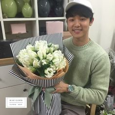 cnblue.cl — 160707 Kang Minhyuk at Flower Arranging Class cr:...