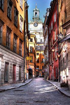 Gamla Stan, Stockholm, Sweden (photo: Abariltur)
