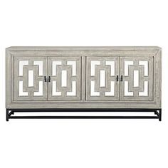 The Artemis Sideboard is made from the tropical Mango Tree that has been hand-finished with an iron base. The mirror and iron accents catch the eye and brighten the room. Decor, Furniture, Stylish Home Decor, Chic Furniture, Sideboard, Wood Buffet, Classic Home Furniture, Furniture Sale, Classic House