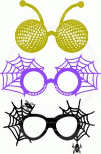 Silhouette Design Store: halloween photo booth props