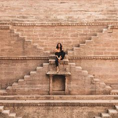 Stairway to heaven? Or a step well in India? Jaipur Travel, India Travel, India Trip, Creative Photography, Photography Poses, Travel Photography, Shay Mitchell, Stairway To Heaven, Travel Pictures