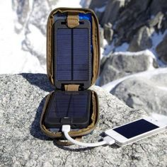 This could definitely be helpful in places where electricity is less than regular! Solarmonkey Adventurer Solar Charger Takes You Far Off Grid.