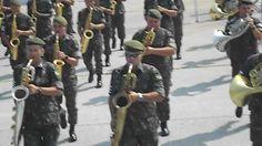 desfile militar 2012. banda do exercito