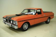 This 1971 Ford Falcon Ute is an Australian model that has somehow made its way to the USA. It is interesting to compare which parts on this RHD model are similar to the North American cars, like the wheels and steering wheel. Find it here at Auto Barn Classic Carsin Concord, North Carolina for $27,995.