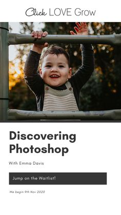 Say goodbye to Photoshop overwhelm forever, and let Emma Davis show you how to use it to bring magic to your photos! Drawing on 15 years of experience Emma uses her expert Photoshop skills to inject emotion and magic into her exquisite photos. #clicklovegrow #beginnerphotographytips #photographytutorials #photoshop How To Use Photoshop, Photoshop Tutorial, Photoshop Actions, Photography Courses, Photography Editing, Photography Tips For Beginners, Photography Tutorials, Edit Your Photos, How To Take Photos