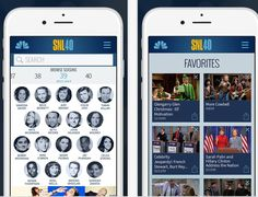 The new SNL app lets you see the best skits over the last 40 years