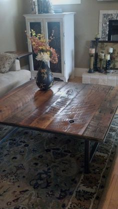 Coffee Table the Leffler is 10 off until Aug 31 by DBaileyBuilt, $475.00