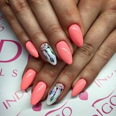 Gel Polish Miss Universe by Indigo Educator Warszawa - Natalia Kondraciuk #nails #nail #summer #spring #aztec #indigo #hot #omg #wow