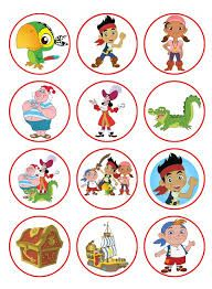 Disney Party Ideas: Jake and the Neverland Pirates Party Cupcake Toppers Pirate Birthday Cake, Pirate Cupcake, Toy Story Birthday, Toy Story Party, 2nd Birthday Parties, Boy Birthday, Mickey Mouse Parties, Mickey Mouse Birthday, Pirate Theme