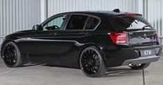 KTW Tuning BMW 116i Black & White