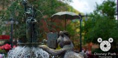 Facebook Cover Photo - Disney's Hollywood Studios - Muppet Vision 3D - Muppet Fountain