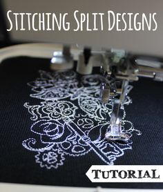 Urban Threads has posted a free embroidery tutorial that covers stitching split designs.  You'll  discover how to stitch out multi-part desi...