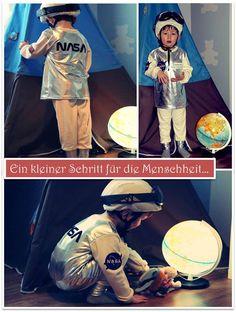 Ein kleiner Schritt für die Menschheit..... NASA Astronaut-Kostüm #karnevalskostüm