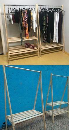 Pallet Cloth hanger