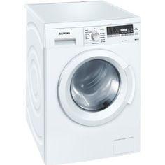 Siemens WM14Q441 Waschmaschine Frontlader / A+++ B / 174 kWh/Jahr / 1400 UpM / 7 kg / 8140 liter/Jahr / Hemden/Business Programm / Outdoor Programm / weiß / EcoTopTen