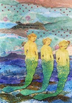 Mermaid art~