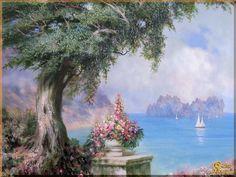 Картина Средиземноморье