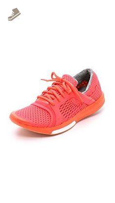 adidas by Stella McCartney Women's CC Sonic Sneakers, Solar Red/Hot Coral, 8 B(M) US - Adidas sneakers for women (*Amazon Partner-Link)