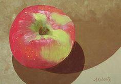 Art - Apple  by Anna Roberts