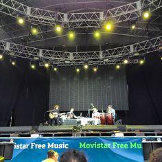 Junip - Movistar Free Music 2012 en el Planetario Galileo Galilei (Buenos Aires)