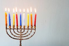 How To Get Wax off Your Menorah After Hanukkah. Fill sink with hot water. Let menorah on sink. Wax will melt and float. Use a paper towel to catch it and discard. Get menorah out of sink and wipe it well Hanukkah Menorah, Christmas Hanukkah, Hannukah, Happy Hanukkah, Hanukkah Traditions, Hanukkah Celebration, How To Celebrate Hanukkah, Free Stock
