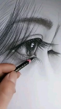 Cool Pencil Drawings, Art Drawings Sketches Simple, Realistic Drawings, Cool Sketches, Black And White Art Drawing, Art Drawings Beautiful, Amazing Drawings, Eye Art, Pencil Portrait