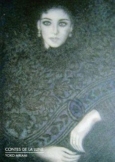 【Galerie Hayasaki】【CONTES DE LA LUNE】Exposition de Yoko Mikami三上柳子 : フランス落書き帳