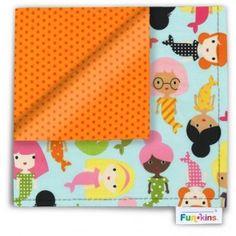 Funkins - Cloth Napkin - My BFFs Are Mermaids Eco Kids, Cloth Napkins, Bffs, Mermaids, Lunch Box, Wings, Placemat, Fabric, Amazon