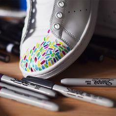 Custom Kicks with Sharpie