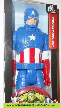 Marvel Titan Hero CAPTAIN AMERICA avengers 12 inch movie universe moc