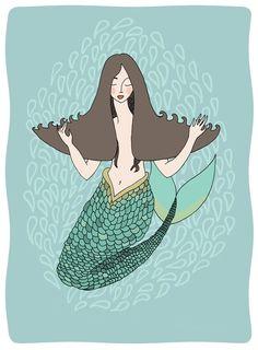 sea lion woman