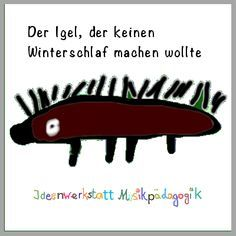 A story of the hedgehog - Herbstlieder Winterlieder - Kindergarten Activities, Preschool, Kalimba, Fox Cookies, Woodland Party, Holiday Cocktails, Primary School, Diy And Crafts, Fun