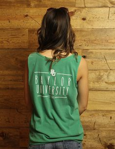 Bro tank it up with Baylor University and Comfort Colors! Go BU!!