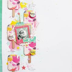 New layout featuring the Aloha collection designed by @foricecreamiscream for @scrapbookwerkstatt. #sbwaloha #sbw #scrapbookwerkstatt #sbwdesignteam #papercraft #papercrafting #craft #crafting #diy #scrapbooklayout #patternedpaper #memorykeeping