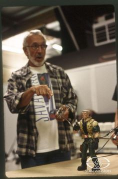Stan Winston with Small Soldiers