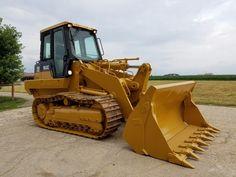 2003 Caterpillar 963C Track Loader Diesel Engine Hydraulic Machine 4/1 Bucket