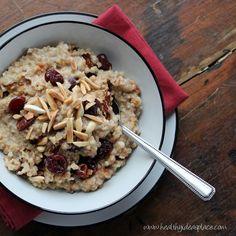 Cherry vanilla overnight oats recipe #breakfast #brunch