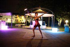 #eventi #piscina #cadelach #danzadelfuoco