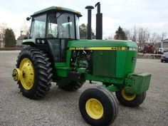 1989 John Deere 4455 Tractor for sale by owner on Heavy Equipment Registry  http://www.heavyequipmentregistry.com/heavy-equipment/16065.htm