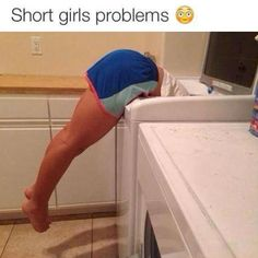 16 Struggles That Are All Too Real For Short Girls. This is my life except #16. I married a man over a foot taller than me and my best friend is tall.