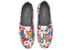It's the shoe that's been around the world and back. #TOMS #travelingTOMS