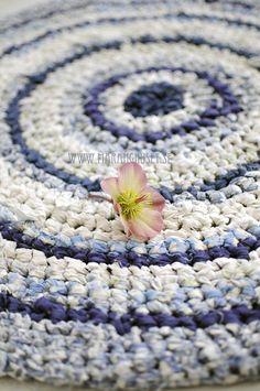 Rag - Blue Swirls...