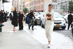 Less is more. #refinery29 http://www.refinery29.com/2015/09/93788/ny-fashion-week-spring-2016-street-style-pictures#slide-26